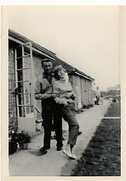 Maureen Blake & Dad 1961